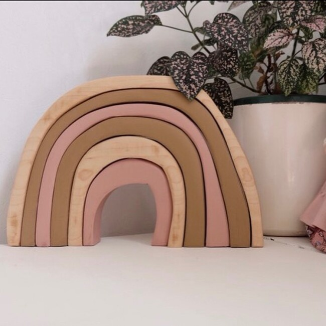 The woodlands toys wooden rainbow