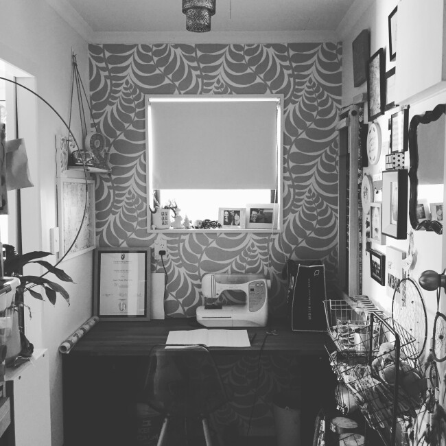 home office sewing room