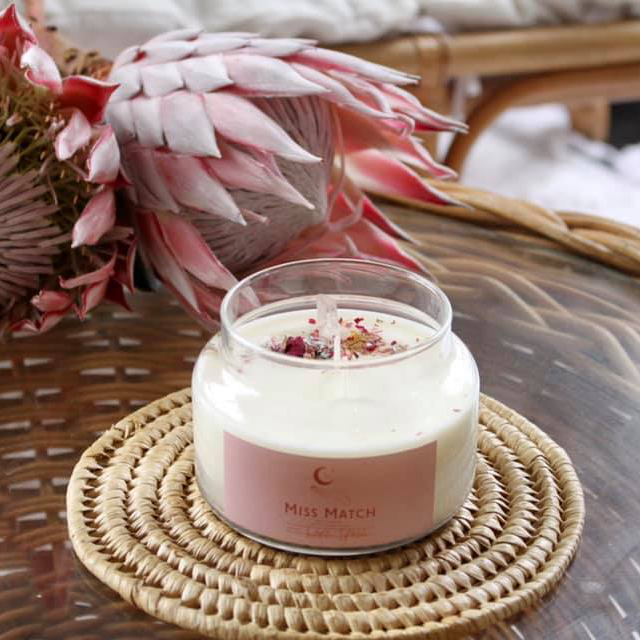 miss match soy candles